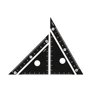 レイメイ藤井 定規 見やすい白黒 三角定規 黒 10cm APJ251B 人気商品 ※商品は1点 ( 本 ) の価格になります。