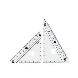 レイメイ藤井 定規 見やすい白黒 三角定規 白 10cm APJ251W 人気商品 ※商品は1点 ( 本 ) の価格になります。