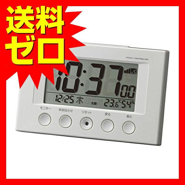 コンパクトで前面操作の簡単電波デジタル フィットウェーブスマート 白色 8RZ166SR03