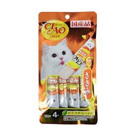 チャオ ( CIAO ) スティック ささみ 4SC-83 15g 4本 キャットフード 猫 ネコ ねこ キャット cat ニャンちゃん※商品は1点 ( 個 ) の価格になります。