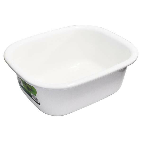 ポゼ 洗い桶 角型 ホワイト アスベル 4312 【送料無料】