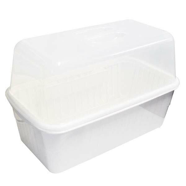 ポゼ フード付水切りセットスリム 中 ホワイト アスベル 4327【送料無料】|1805KBTU^
