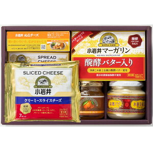 夏ギフト 小岩井乳製品詰合せモーニングセット KIW-M