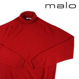 【52】 MALO マーロ タートルネックセーター メンズ 秋冬 カシミヤ100% レッド 赤 並行輸入品 メンズファッション 男性用 ビジネス ニット 大きいサイズ 日本未入荷 ラッピング無料 送料無料