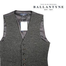 【52】 BALLANTYNE バランタイン ジレ HMS002JWM02 メンズ 秋冬 グレー 灰色 並行輸入品 メンズファッション 男性用 ビジネス ベスト 大きいサイズ 日本未入荷 ラッピング無料 送料無料