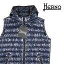 【48】 HERNO ヘルノ ダウンベスト PIO353U メンズ 秋冬 ネイビー 紺 並行輸入品 メンズファッション 男性用 ビジネス…