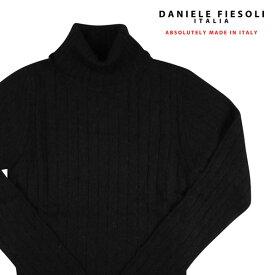 DANIELE FIESOLI(ダニエレフィエゾーリ) タートルネックセーター DF5171 ブラック M 18180bk 【W18184】
