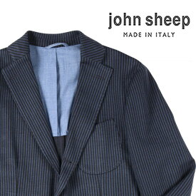JOHN SHEEP(ジョン・シープ) ジャケット MJ116 ブルー x ネイビー 48 18528bl 【AW18529】