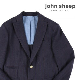 JOHN SHEEP(ジョン・シープ) ジャケット MJ1164867 ネイビー x レッド 50 18538nv 【A18541】