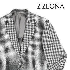 【50】 Z.ZEGNA ジーゼニア ジャケット メンズ 秋冬 チェック ホワイト 白 並行輸入品 メンズファッション 男性用 ビジネス アウター トップス 日本未入荷 ラッピング無料 送料無料