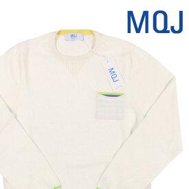 MQJ(エムキュージェイ) 丸首セーター P19-MQJ1105 ホワイト M 19128wh 【A19133】