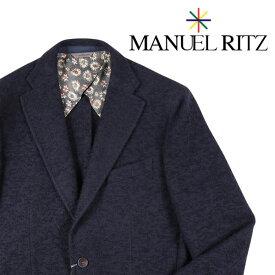 【Blue Dayセール】 MANUEL RITZ(マニュエル リッツ) ジャケット 2532G2038 ネイビー 52 19204 【W19205】