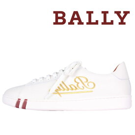 BALLY(バリー) スニーカー WINSTON ホワイト x ゴールド 39 19243 【A19243】
