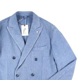 STUDIO EST.1911(スタジオ エスト) ジャケット 8355 ブルー 50 【W19647】