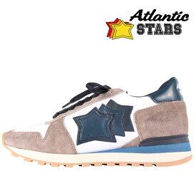 【45】 Atlantic Stars アトランティックスターズ スニーカー ARGO メンズ ホワイト 白 並行輸入品 メンズファッション 男性用 ビジネス 大きいサイズ 日本未入荷 ラッピング無料 送料無料
