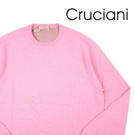 CRUCIANI(クルチアーニ) 丸首セーター CU9090 ピンク 50 【W20227】