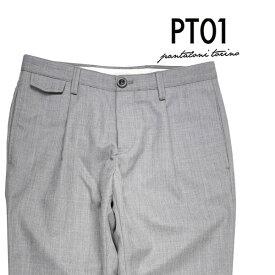【34】 PT01 ピーティー ゼロウーノ パンツ MZ85/0 メンズ グレー 灰色 並行輸入品 メンズファッション 男性用 ビジネス ズボン 大きいサイズ 日本未入荷 ラッピング無料 送料無料