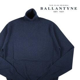 【52】 BALLANTYNE バランタイン タートルネックセーター Y2P00212K00 メンズ 秋冬 カシミヤ100% ネイビー 紺 並行輸入品 メンズファッション 男性用 ビジネス ニット 大きいサイズ 日本未入荷 ラッピング無料 送料無料
