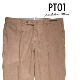 PT01(ピーティー ゼロウーノ) スラックス ZI36 ブラウン 50 【W20719】