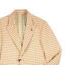 【48】 FAG ファグ ジャケット メンズ チェック イエロー 黄 並行輸入品 メンズファッション 男性用 ビジネス アウタ…