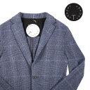 【L】 T jacket ティージャケット ジャケット メンズ 春夏 チェック ネイビー 紺 並行輸入品 メンズファッション 男性…