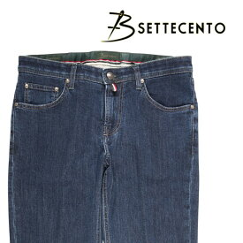 【SUMMER SALE】 B SETTECENTO(ビーセッテチェント) ジーンズ 201 ダークブルー 34 21311 【A21315】