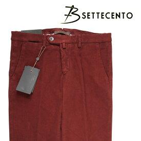 【31】 B SETTECENTO ビーセッテチェント パンツ メンズ 秋冬 レッド 赤 並行輸入品 メンズファッション 男性用 ビジネス ズボン 日本未入荷 ラッピング無料 送料無料