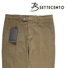 【33】 B SETTECENTO ビーセッテチェント パンツ メンズ カーキ 並行輸入品 メンズファッション 男性用 ビジネス ズボン 日本未入荷 ラッピング無料 送料無料