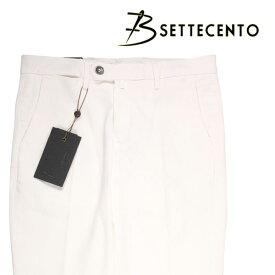 B SETTECENTO(ビーセッテチェント) パンツ 6033 ホワイト 38 21342wh 【A21372】