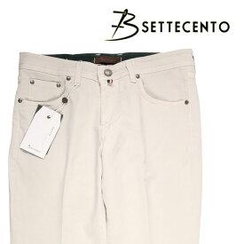 B SETTECENTO(ビーセッテチェント) ジーンズ 6032 オフホワイト 44 21411 【A21421】