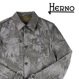 【SUMMER SALE】 HERNO(ヘルノ) ブルゾン FI0036U カーキ 50 21459 【S21460】