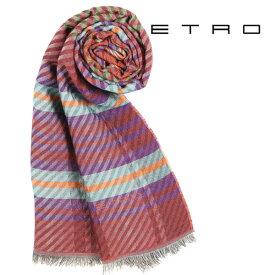 ETRO エトロ ストール メンズ オレンジ 並行輸入品 メンズファッション 男性用 ビジネス 日本未入荷 ラッピング無料 送料無料