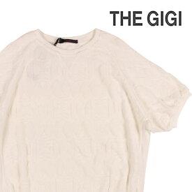 【M】 THE GIGI ザ ジジ 丸首セーター KOS メンズ ホワイト 白 並行輸入品 メンズファッション 男性用 ビジネス ニット 日本未入荷 ラッピング無料 送料無料