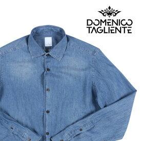Domenico Tagliente(ドメニコ・タリエンテ) 長袖シャツ A014 ブルー 42 22033 【A22035】