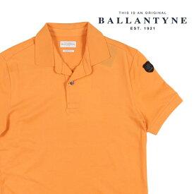 【S】 BALLANTYNE バランタイン 半袖ポロシャツ GMW012 メンズ 春夏 オレンジ 並行輸入品 メンズファッション 男性用 ビジネス トップス 日本未入荷 ラッピング無料 送料無料
