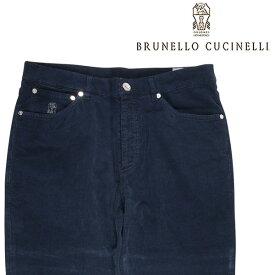 【Blue Dayセール】 BRUNELLO CUCINELLI(ブルネロクチネリ) コーデュロイパンツ M298DT1070 ネイビー 46 22305 【W22305】