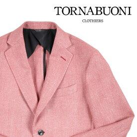 【44】 TORNABUONI トルナブォーニ ジャケット メンズ ヘリンボーン ピンク 並行輸入品 メンズファッション 男性用 ビジネス アウター トップス 日本未入荷 ラッピング無料 送料無料