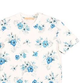 【L】 succo di lana スッコ・ディ・ラナ Uネック半袖Tシャツ メンズ 春夏 ホワイト 白 並行輸入品 メンズファッション 男性用 ビジネス トップス 日本未入荷 ラッピング無料 送料無料