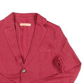 【S】 succo di lana スッコ・ディ・ラナ ジャケット メンズ 春夏 レッド 赤 並行輸入品 メンズファッション 男性用 ビジネス アウター トップス 日本未入荷 ラッピング無料 送料無料
