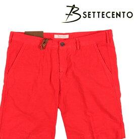 B SETTECENTO(ビーセッテチェント) ハーフパンツ B801-7006 レッド 32 22848rd 【S22849】