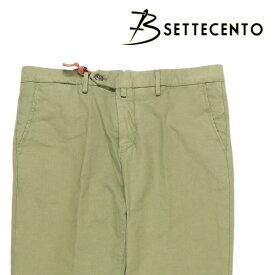【SUMMER SALE】 B SETTECENTO(ビーセッテチェント) パンツ MH700-7140 カーキ 34 22874kh 【S22883】