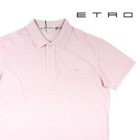 【M】 ETRO エトロ 半袖ポロシャツ メンズ ピンク 並行輸入品 メンズファッション 男性用 ビジネス トップス 日本未入荷 ラッピング無料 送料無料