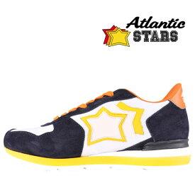 【41】 Atlantic Stars アトランティックスターズ スニーカー ANTARES WBA-36NY メンズ 星柄 ホワイト 白 レザー 並行輸入品 メンズファッション 男性用 ビジネス 日本未入荷 ラッピング無料 送料無料