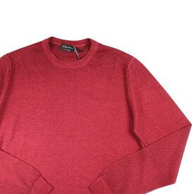 ZANIERI(ザニエリ) 丸首セーター GRU-2001-FV ワインレッド S 23268wn 【W23297】