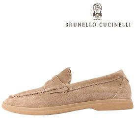 BRUNELLO CUCINELLI(ブルネロクチネリ) ローファー C6465 ライトブラウン 42 23588lbr 【A23589】