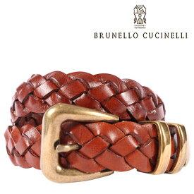 BRUNELLO CUCINELLI(ブルネロクチネリ) ベルト C6726 ブラウン 100 23593 【A23596】