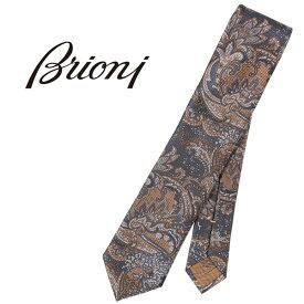 brioni(ブリオーニ) ネクタイ 08A900741Y ネイビー x イエロー 24094nv 【A24094】