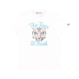 【SUMMER SALE】 Saint Barth(セントバース) Uネック半袖Tシャツ TSHM001 TGSB01 ホワイト M 24790 【S24790】
