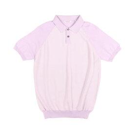 【SUMMER SALE】 Gran Sasso(グランサッソ) 半袖ポロシャツ TENNIS M/M パープル 50 24828 【S24829】