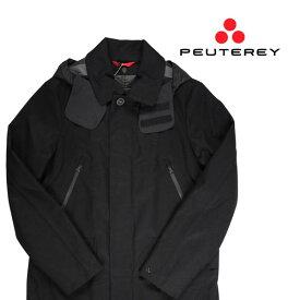 【48】 PEUTEREY ピューテリー コート PEU1793 メンズ 秋冬 ブラック 黒 並行輸入品 メンズファッション 男性用 ビジネス アウター トップス 日本未入荷 ラッピング無料 送料無料